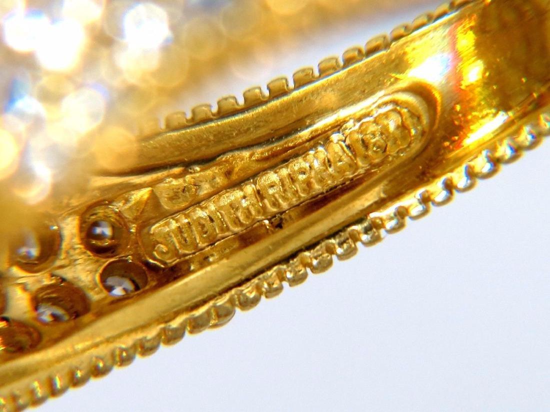 Authentic Judith Ripka Canary Yellow Quartz diamonds - 4