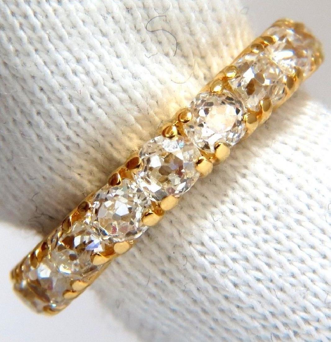 2.00ct NATURAL CUSHION CUT OLD MINERS HALFWAY DIAMONDS