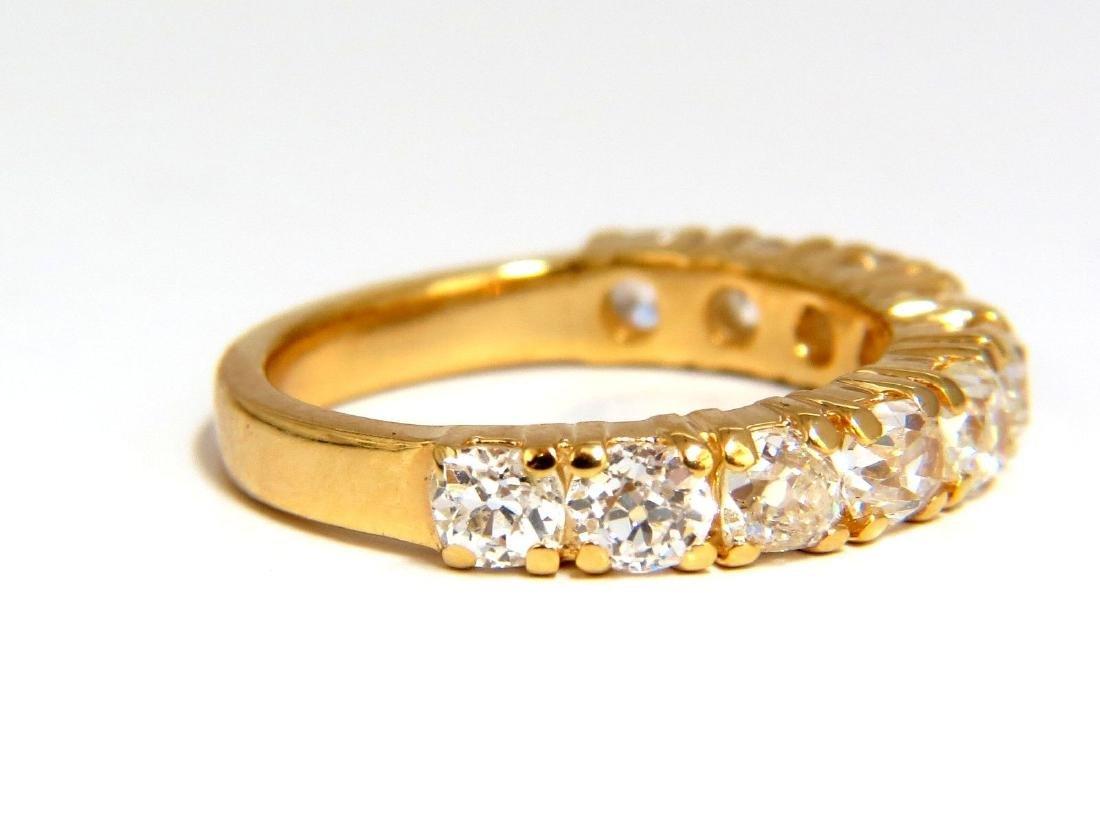 2.00ct NATURAL CUSHION CUT OLD MINERS HALFWAY DIAMONDS - 3
