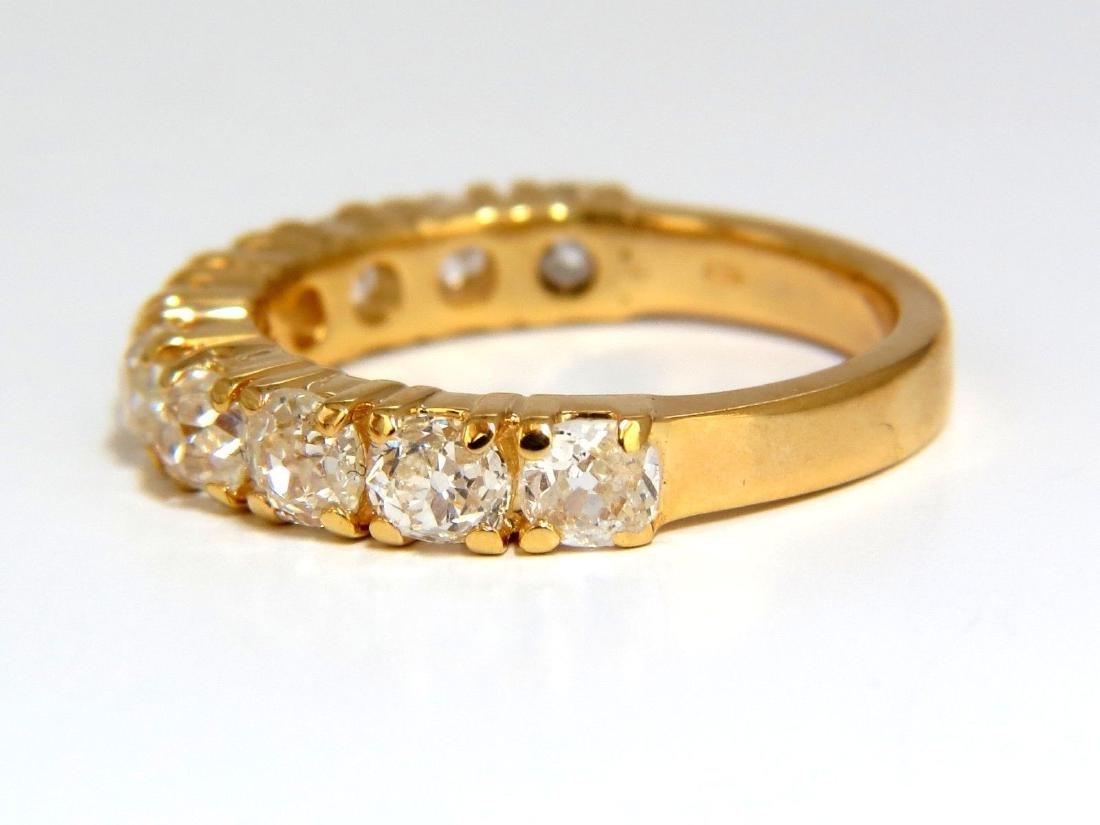 2.00ct NATURAL CUSHION CUT OLD MINERS HALFWAY DIAMONDS - 4