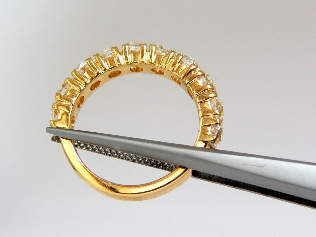 2.00ct NATURAL CUSHION CUT OLD MINERS HALFWAY DIAMONDS - 6