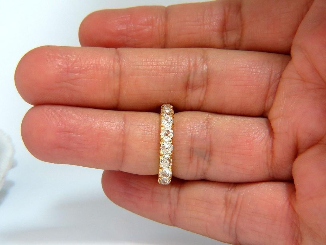 2.00ct NATURAL CUSHION CUT OLD MINERS HALFWAY DIAMONDS - 7