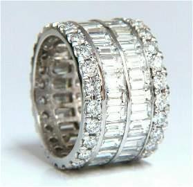 11.25ct Natural Diamonds Eternity Ring E/Vs Revolver