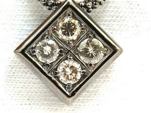 1.54CT DIAMONDS NATURAL FANCY LIGHT BROWN BEADED