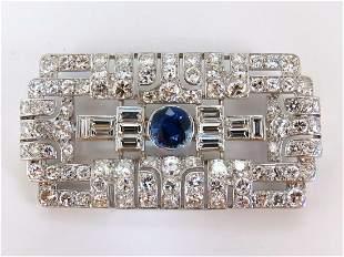 GIA Certified 7.02ct natural round sapphire diamond