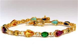 8.38ct natural tsavorite sapphires emeralds yellow