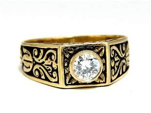 .40ct Vintage Victorian Natural Diamond Ring 18 Karat