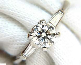 GIA 1.04CT IDEAL CUT G/VS2 ROUND BRILLIANT DIAMOND RING