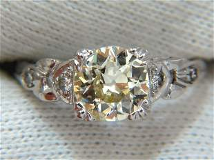 1.33ct vintage class old mine cut natural diamond