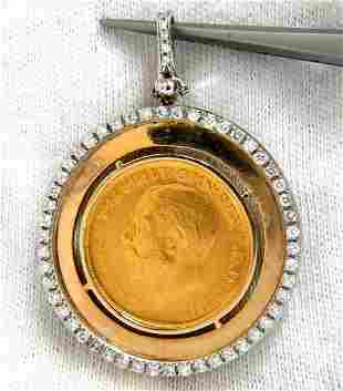 1911 British Georgivs V. D.G Britt OMN Rex FD IND IMP D