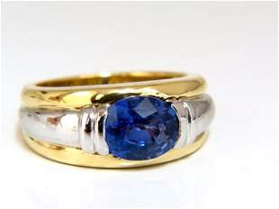 GIA Certified 2.59ct Natural No heat 2.59ct Sapphire