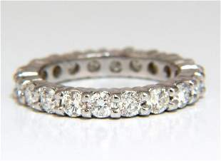 2.16ct Natural Round Diamonds Eternity Ring Sharing Pro