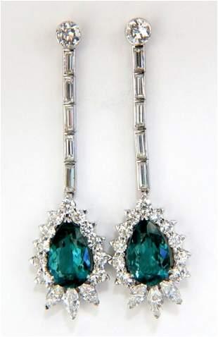 GIA Certified 12.53ct Natural Tourmaline Diamonds