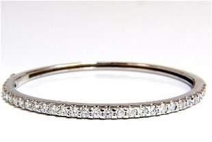2.48ct natural round diamonds bangle bracelet g/vs
