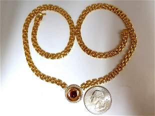 2.36ct natural Spinel Necklace 14kt