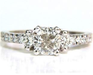 2.01CT GIA CUSHION CUT DIAMOND RING PLATINUM