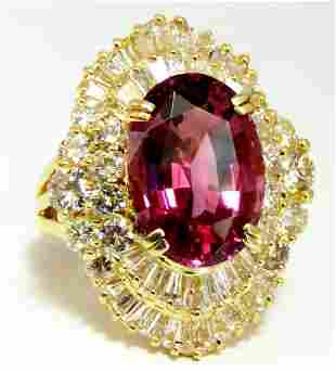 GIA Certified 8.12ct Natural No Heat Spinel 6.00ct
