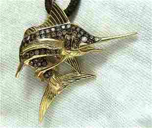 1.50ct Natural Fancy Yellow Brown Diamonds Marlin Penda