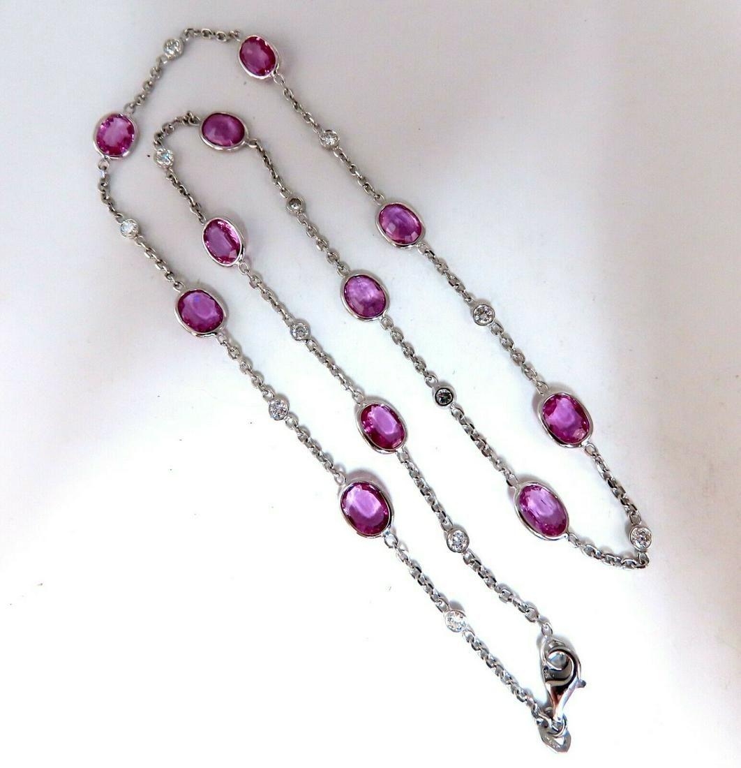 16.80ct. Natural Vivid Gem Bubble Gum Pink Sapphires