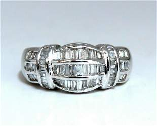 .70ct Baguette Diamonds Ring Cocktail Band 14kt