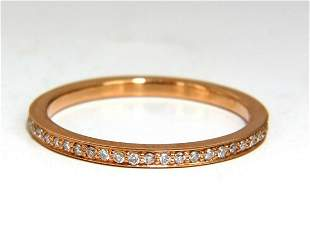 .25ct Natural Round Diamonds Eternity Ring 18kt 8.25