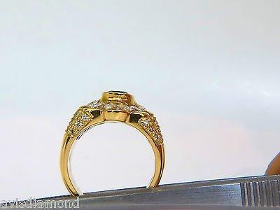 18KT 4.00CT NATURAL EMERALD DIAMOND RING CUSTOM DETAIL - 10
