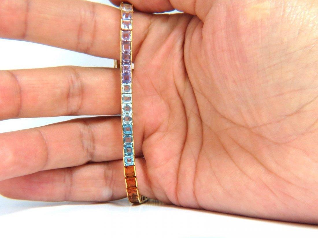 10.00ct amethyst Aquamarines Citrine Topaz Garnet - 9