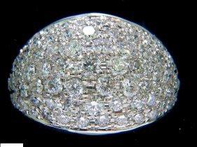 2.50ct Brilliant Diamonds Cocktail Cluster Dome Bead