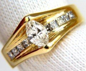 1.12ct 18kt 1.12ct Diamonds Tension Top Class Mod Deco