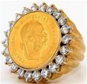 Franc IOS IDG Austria Imperator Gold Coin 2.60ct