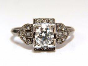 1.10ct Edwardian Natural Round Diamonds Raised Deck