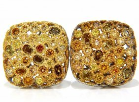 1.60ct Natural Fancy Color Diamonds Clip Cocktail