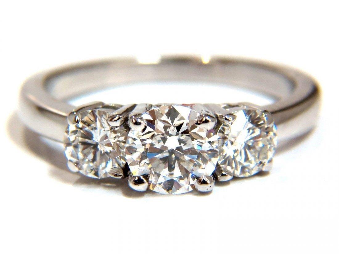 GIA 1.54CT NATURAL ROUND BRILLIANT DIAMOND RING CLASSIC