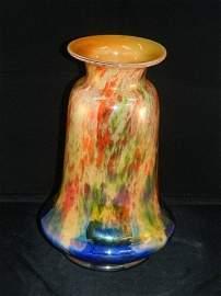 176: Large Loetz / Kralik  Czechoslovakian Vase