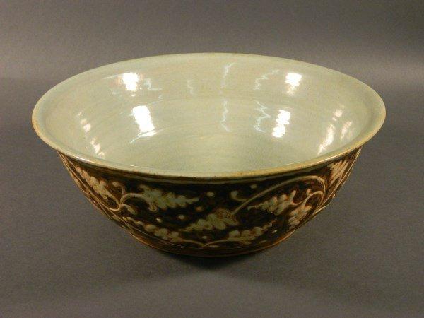 Large Celadon Glazed Bowl