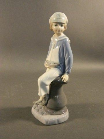 Lladro Sailor Boy Figurine