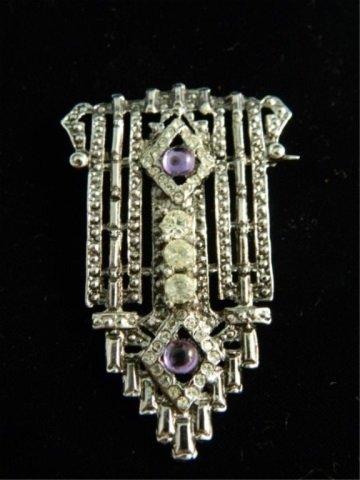 Art Deco Styled Brooch
