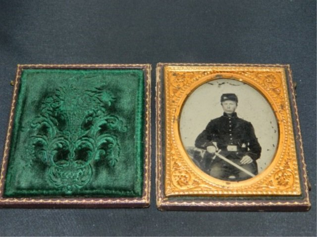 Daguerreotype of Union Soldier - Civil War