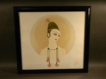 ERTE - Signed and Numbered Serigraph