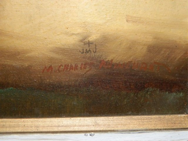 M. CHARLES RHINEHART - Abstract Painting - 3