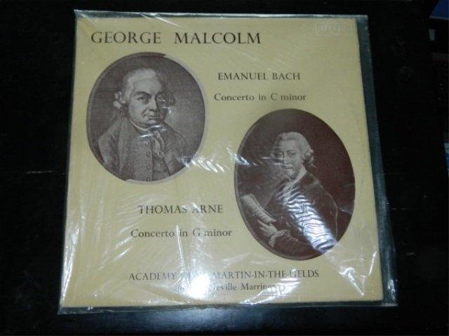 Bach : Concerto in C Minor    LP