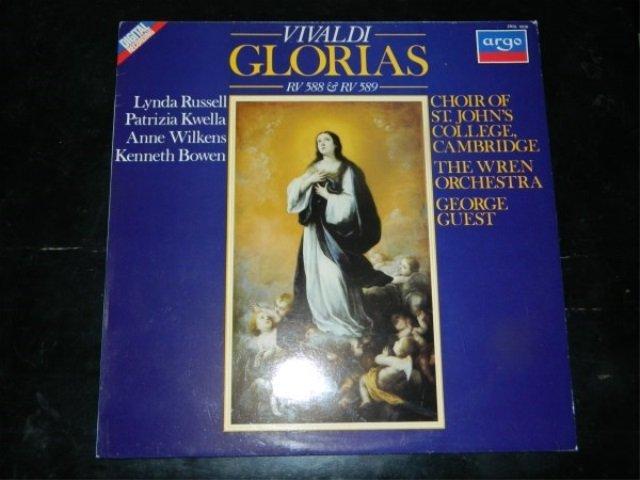 Vivaldi : Glorias - George Guest  LP