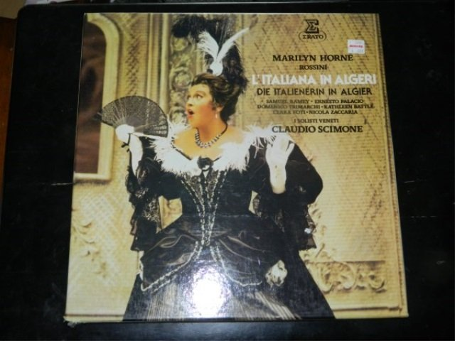 Rossini : L'Italiana in Algeri   3 LP SET