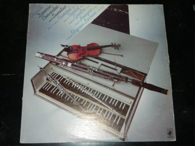 Vivaldi : Diverse Concertos and Sonatas  LP