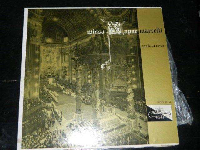 Palestrina : Missa Papae Marcelli   LP