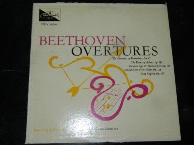 Beethoven : Overtures - Scherchen  LP