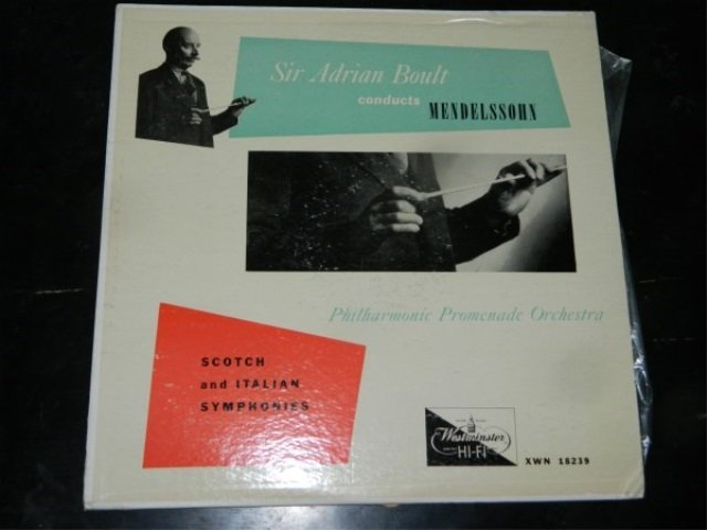 Mendelssohn : Symphony Nos. 3 & 4  LP