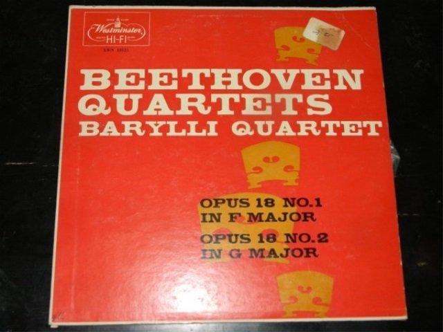 Beethoven : Quartet Nos. 1 & 2   LP