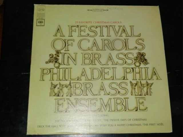 A Festival of Carols in Brass  LP