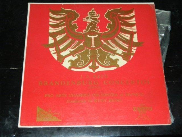 Bach : Brandenburg Concertos - Kurt Redel  LP